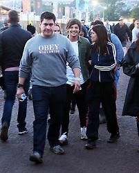 © Licensed to London News Pictures. 26/06/2015. PILTON, UK. Louis Tomlinson. Glastonbury Festival 2015.. Photo credit : Jason Bryant/LNP