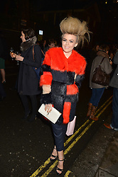 TALIA STORM at the fourth annual Fayre of St James's charity Christmas concert hosted by the Quintessentially Foundation and The Crown Estate in partnership with Deutsche Asset & Wealth Management held at  St James's Church, 197 Piccadilly, London followed by a party at Quaglino's 16 Bury Street, London on 24th November 2015.
