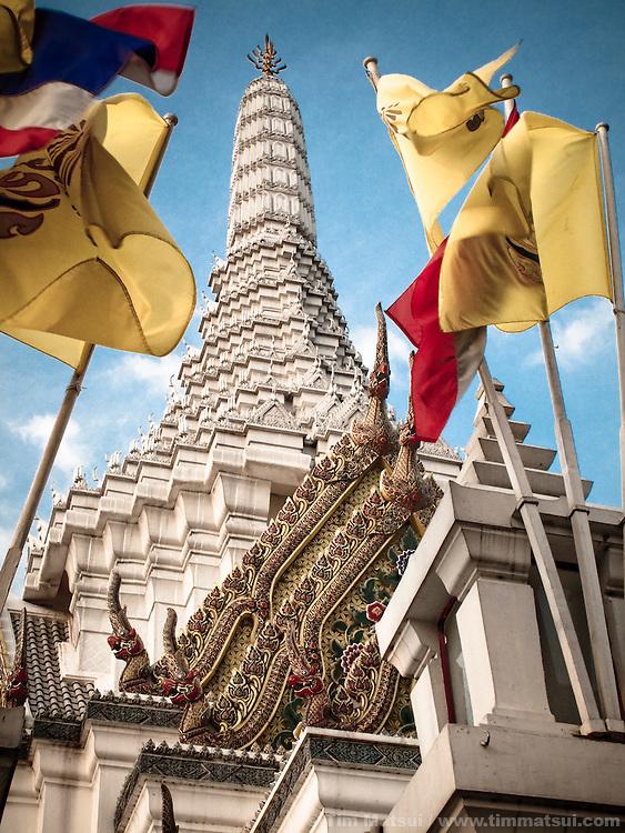 Lak Meuang (City Pillar) in downtown Bangkok, Thailand.