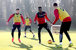 Tammy Abraham of Bristol City takes part in training - Mandatory by-line: Robbie Stephenson/JMP - 19/01/2017 - FOOTBALL - Bristol City Training Ground - Bristol, England - Bristol City Training