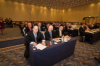 Minister for Finance Michael Noonan TD  at the Fine Gael  Parliamentary Party meeting in the Radisson Blu Hotel Galway. Photo:Andrew Downes...