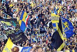 """Foto Filippo Rubin<br /> 26/03/2017 Ferrara (Italia)<br /> Sport Calcio<br /> Spal vs Frosinone - Campionato di calcio Serie B ConTe.it 2016/2017 - Stadio """"Paolo Mazza""""<br /> Nella foto: I TIFOSI DEL FROSINONE<br /> <br /> Photo Filippo Rubin<br /> March 26, 2017 Ferrara (Italy)<br /> Sport Soccer<br /> Spal vs Frosinone - Italian Football Championship League B ConTe.it 2016/2017 - """"Paolo Mazza"""" Stadium <br /> In the pic: FROSINONE FANS"""
