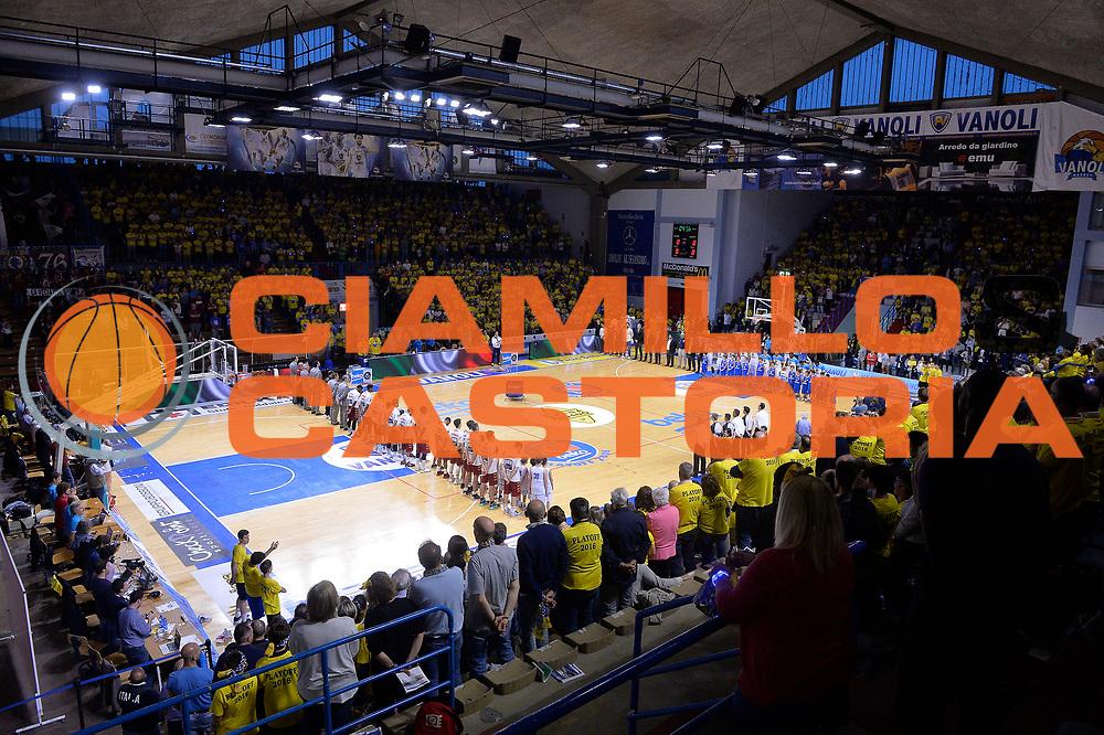 Cremona 08 Maggio 2016<br /> Serie A Lega Beko<br /> Play Off Quarti di finale Gara 1 <br /> Vanoli Cremona Umana Reyer Venezia<br /> Nella Foto Panoramica Cremona<br /> Foto Ciamillo<br /> Provvisorio
