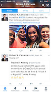 HISD Superintendent Richard Carranza tweets about Booker T. Washington students Matthew Blue and Valencia Grayson