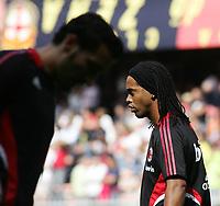 Fotball<br /> Italia<br /> 14.09.2008<br /> Foto: Inside/Digitalsport<br /> NORWAY ONLY<br /> <br /> Ronaldinho (Milan) <br /> <br /> Campionato Italiano Serie A 2008/2009<br /> Genoa v Milan (2-0)