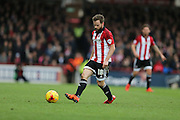 Brentford midfielder Alan Judge during the Sky Bet Championship match between Brentford and Brighton and Hove Albion at Griffin Park, London, England on 26 December 2015.