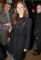 LONDON - November 02: Amy Nuttall at the Uncle Vanya Press Night (Photo by Brett D. Cove)