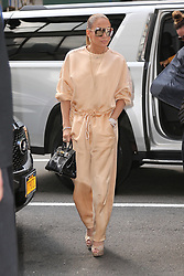 Jennifer Lopez seen arriving at the Ripley-Grier Studios. 31 Jul 2018 Pictured: Jennifer Lopez. Photo credit: MEGA TheMegaAgency.com +1 888 505 6342