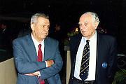 Europei Roma 1991 - Presidente Enrico Vinci (a destra)