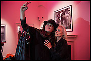 DANIEL LISMORE; DEBBIE HARRY, Chris Stein / Negative: Me, Blondie, and The Advent of Chris Stein / Negative: Me, Blondie, and The Advent of Punk - private view, Somerset House, the Strand. London. 5 November 2014.