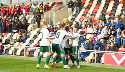 NEWPORT, WALES - Tuesday, November 19, 2019: Wales' xxxx during the UEFA Under-19 Championship Qualifying Group 5 match between Kosovo and Wales at Rodney Parade. (Pic by Laura Malkin/Propaganda)