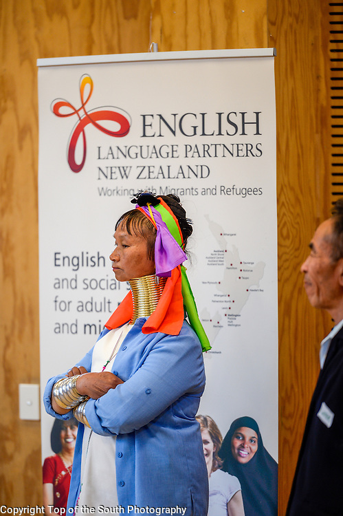 English Language Partners Nelson got together for a Celebration of Learning to acknowledge the important work that tutors and learners to help transition into a new life in New Zealand.<br /> We were honoured that our Mayor, Rachel Reese joined us in our celebration and presented Awards to deserving recipients who have embraced learning English and about New Zealand culture.<br /> Over 100 people from many different lands attended, bringing with them songs, music and foods of cultural significance. We were entertained by learners from Korea, Bhutan, Myanmar, Malaysia, Nepal and the Philippines. Our own local Kapa Haka group sang and got us up dancing.<br /> We also said our goodbyes to Doug Adam who has managed the ELP program for over 12 years and is now retiring. He has truly made a difference to so many who have come from overseas to make New Zealand their home.<br /> Great fun, great learners, great tutors, great entertainment, great food. Great day!