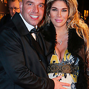 NLD/Amsterdam/20130109 - Filmpremiere Les Misarables, Andy van der Meijde en  zwangere partner Melisa Schaufelli