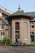 Hotel de Windketel, Gebäude des ehemaligen Wasserwerks von 1900, Amsterdam West, Amsterdam, Holland, Niederlande