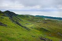 View from Trotternish Ridge Isle of Skye Scotland