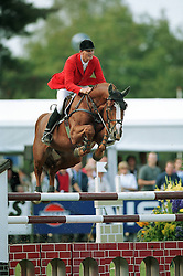 Kirchhoff Ulrich (GER) - Ohio van de Padenborre<br /> World Championships Young Horses Lanaken 1999<br /> Photo © Dirk Caremans