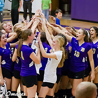 10-20-14 Berryville Varsity Volleyball vs. Prairie Grove