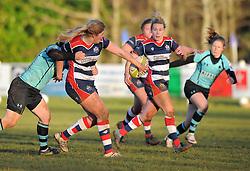 - Mandatory by-line: Paul Knight/JMP - 04/12/2016 - RUGBY - Cleve RFC - Bristol, England - Bristol Ladies v Worcester Valkyries - RFU Women's Premiership