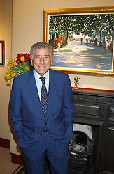 TONY BENNETT  at a private view of paintings by singer Tony Bennett held at the catto Gallery, 100 Heath Street, London NW3 on 5th April 2005.<br /><br />NON EXCLUSIVE - WORLD RIGHTS