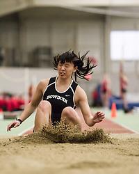 Bowdoin Indoor 4-way track meet: Women Triple Jump