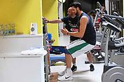Riccardo Cervi<br /> Raduno Nazionale Italiana Maschile Senior - Allenamento in Sala pesi<br /> FIP 2017<br /> Folgaria, 26/07/2017<br /> Foto M.Ceretti / Ciamillo-Castoria
