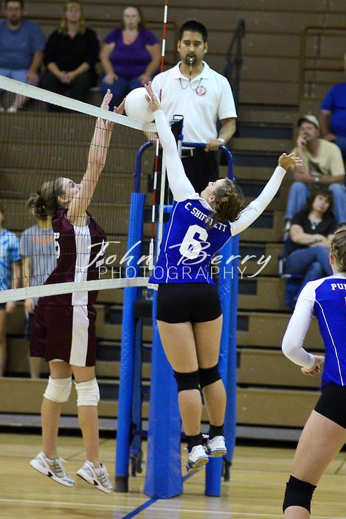 MCHS Varsity Volleyball .vs Luray  .9/21/09