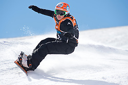 VOS Chris, Banked Slalom, 2015 IPC Snowboarding World Championships, La Molina, Spain