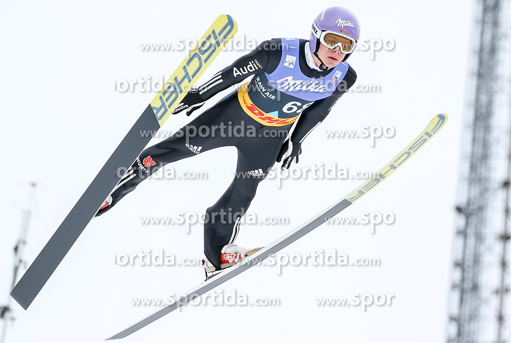 13.03.2017, Lysgards Schanze, Lillehammer, NOR, FIS Weltcup Ski Sprung, Raw Air, Lillehammer, im Bild Andreas Wellinger (GER) // Andreas Wellinger of Germany // during the 2nd Stage of the Raw Air Series of FIS Ski Jumping World Cup at the Lysgards Schanze in Lillehammer, Norway on 2017/03/13. EXPA Pictures © 2017, PhotoCredit: EXPA/ Tadeusz Mieczynski