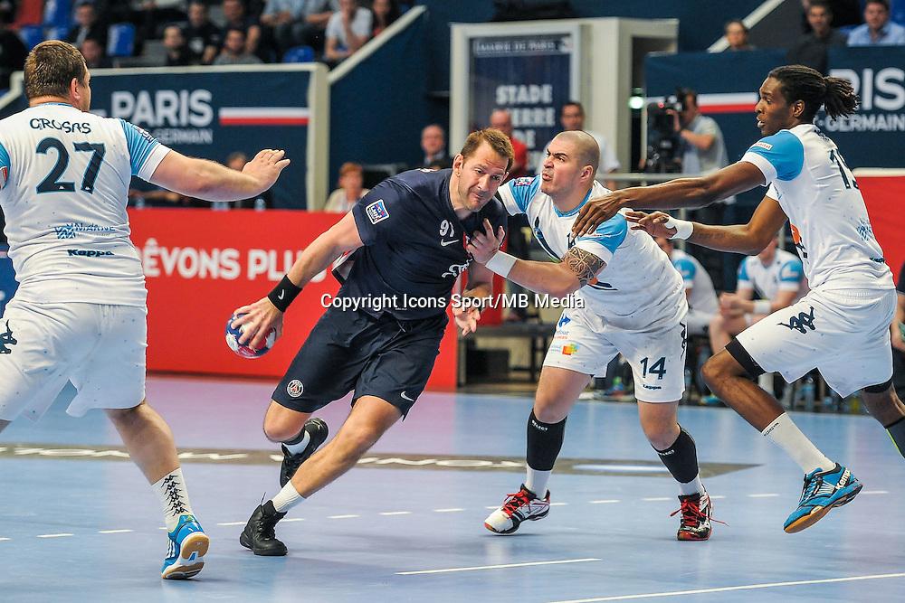 Mladen Bojinovic / Muhamed Toromanovic - 22.04.2015 - PSG / Creteil - 21eme journee de D1<br /> Photo : Andre Ferreira / Icon Sport