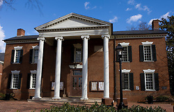 The Albemarle County Court House, located in Historic Court Square, Charlottesville, Virginia February 19, 2008.