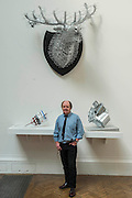 The Royal Academy of Arts' 248th Summer Exhibition is coordinated by the renowned British sculptor and Royal Academician Richard Wilson (pictured with his own work below).