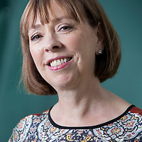 Joanna Blythman, the British investigative food journalist and writer, at the Edinburgh International Book Festival 2015. Edinburgh, Scotland. 21st August 2015 <br /> <br /> Photograph by Gary Doak/Writer Pictures<br /> <br /> WORLD RIGHTS