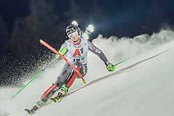 "29.01.2019, Planai, Schladming, AUT, FIS Weltcup Ski Alpin, Slalom, Herren, 1. Lauf, im Bild Sebastian Foss-Solevaag (NOR) // Sebastian Foss-Solevaag of Norway in action during his 1st run of men's Slalom ""the Nightrace"" of FIS ski alpine world cup at the Planai in Schladming, Austria on 2019/01/29. EXPA Pictures © 2019, PhotoCredit: EXPA/ Dominik Angerer"