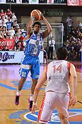 DESCRIZIONE : Reggio Emilia Lega A 2014-15 Grissin Bon Reggio Emilia - Banco di Sardegna Sassari playoff finale gara 2 <br /> GIOCATORE :Sosa Edgar<br /> CATEGORIA : Tiro Tre Punti <br /> SQUADRA : Banco di Sardegna Sassari<br /> EVENTO : LegaBasket Serie A Beko 2014/2015<br /> GARA : Grissin Bon Reggio Emilia - Banco di Sardegna Sassari playoff finale gara 2<br /> DATA : 16/06/2015 <br /> SPORT : Pallacanestro <br /> AUTORE : Agenzia Ciamillo-Castoria / Richard Morgano<br /> Galleria : Lega Basket A 2014-2015 Fotonotizia : Reggio Emilia Lega A 2014-15 Grissin Bon Reggio Emilia - Banco di Sardegna Sassari playoff finale gara 2 Predefinita :