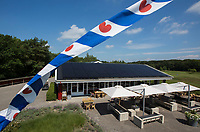 OUDEMIRDUM - Clubhuis. Golfclub Gaasterland ligt in Zuidwest-Friesland en heeft een schitterende 9 holes natuurbaan. COPYRIGHT KOEN SUYK
