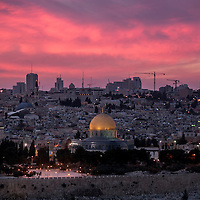**FILE**General view of the Mosque of Omar and the ciy center of Jerusalem.<br />