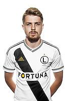 Legia Warszawa<br /> sesja zdjeciowa<br /> n/z DOMINIK FURMAN<br /> No outside sales!
