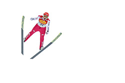 16.12.2017, Nordische Arena, Ramsau, AUT, FIS Weltcup Nordische Kombination, Skisprung, im Bild Eric Frenzel (GER) // Eric Frenzel of Germany during Skijumping Competition of FIS Nordic Combined World Cup, at the Nordic Arena in Ramsau, Austria on 2017/12/16. EXPA Pictures © 2017, PhotoCredit: EXPA/ Martin Huber