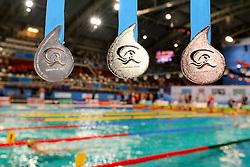 25.11.2010, Pieter van den Hoogenband Zwemstadion, Eindhoven, NED, Kurzbahn Schwimm EM, im Bild Medals.. // Eindhoven 25/11/2010 .European Short Course Swimming Championships, EXPA/ InsideFoto/ Staccioli+++++ ATTENTION - FOR USE IN AUSTRIA/AUT AND SLOVENIA/SLO ONLY +++++ / SPORTIDA PHOTO AGENCY