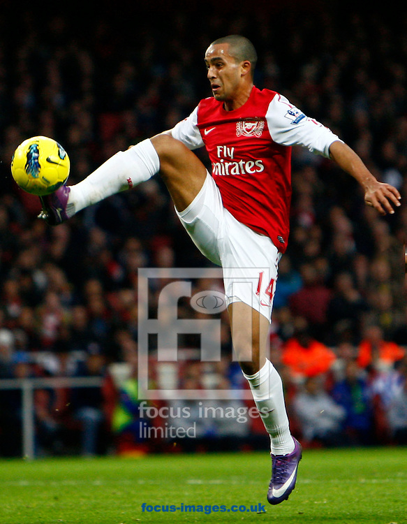 Picture by James Galvin/Focus Images Ltd. .31/12/11.Arsenal's Theo Walcott during the Barclays Premier League match against QPR at Emirates stadium, London..