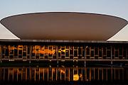 Brasilia_DF, Brasil...Palacio do Planalto, sede do Poder Executivo, localizado na Praça dos Tres Poderes, em Brasília, capital da Republica, Distrito Federal. ..The Palacio do Planalto (Palace of the Highlands), headquarters of the Executive Branch of the Brazilian Government, located at the Praca dos Tres Poderes, in Brasília, Distrito Federal, Brazil...Foto: JOAO MARCOS ROSA / NITRO
