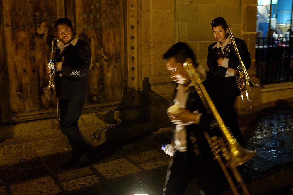 Mariachi Singers. Dia de los Muertos, San Miguel de Allende, Mexico.
