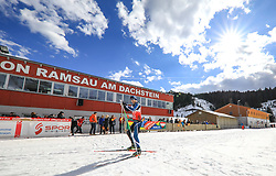 17.03.2017, Ramsau am Dachstein, AUT, Special Olympics 2017, Wintergames, Langlauf, Divisioning 5 km Freestyle, im Bild Ville Mäntynen (FIN) // during the Cross Country Divisioning 5 km Freestyle at the Special Olympics World Winter Games Austria 2017 in Ramsau am Dachstein, Austria on 2017/03/17. EXPA Pictures © 2017, PhotoCredit: EXPA / Martin Huber