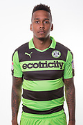 Forest Green Rovers Keanu Marsh-Brown(7) during the Forest Green Rovers Photocall at the New Lawn, Forest Green, United Kingdom on 31 July 2017. Photo by Shane Healey.