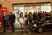 Vogue: Fashion's Night Out:New Bond Street, London. 8 September 2010.  -DO NOT ARCHIVE-© Copyright Photograph by Dafydd Jones. 248 Clapham Rd. London SW9 0PZ. Tel 0207 820 0771. www.dafjones.com.