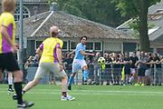 DRC Durgerdam. All Stars voetbaltoernooi. Op de foto: Jasper Demollin