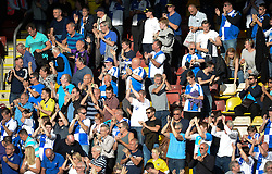Rovers fans clap the Team at the final whistle.  - Mandatory by-line: Alex James/JMP - 17/09/2016 - FOOTBALL - Coral Windows Stadium - Bradford, England - Bradford City v Bristol Rovers - Sky Bet League One