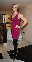 JODIE KIDD at a dinner hosted by jewellers Damiani at The Connaught Hotel, London on 3rd February 2010.