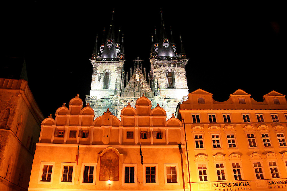 Church of Our Lady Before Týn ( Kostel Matky Boží před Týnem), Prague, Czech Republic