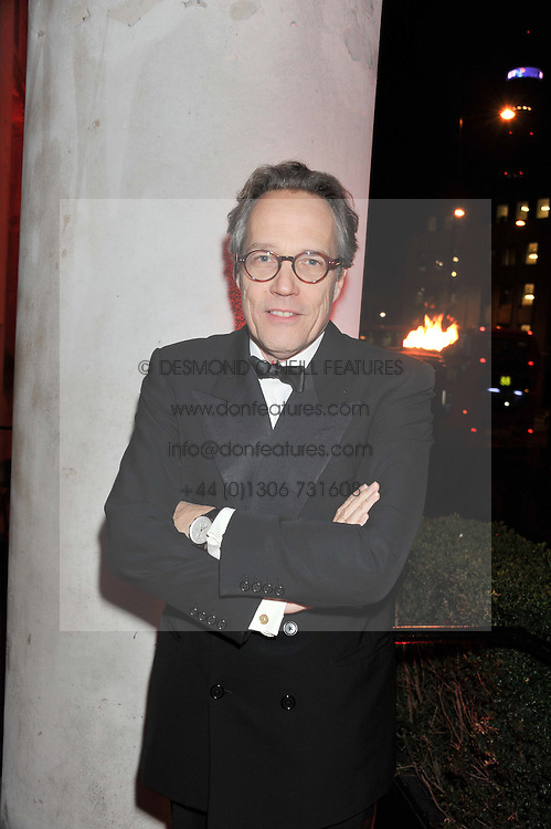 The EARL OF MARCH at the Cord Club's 'Wings For Life' Ball held at One Marylebone, London on 28th February 2013.